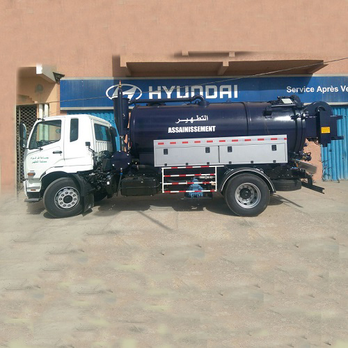 NEW COMBI BODY HAS BEEN INSTALLED TO ITS CHASSIS IN MOROCCO